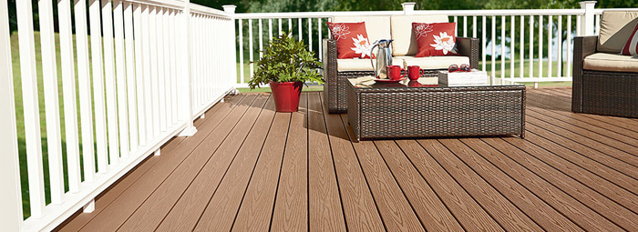 Best six quality composite decking comparisons sequoia for Composite decking comparison