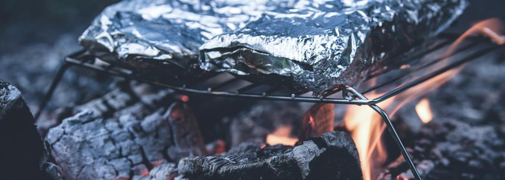 Fire Pit Cooking on Coals
