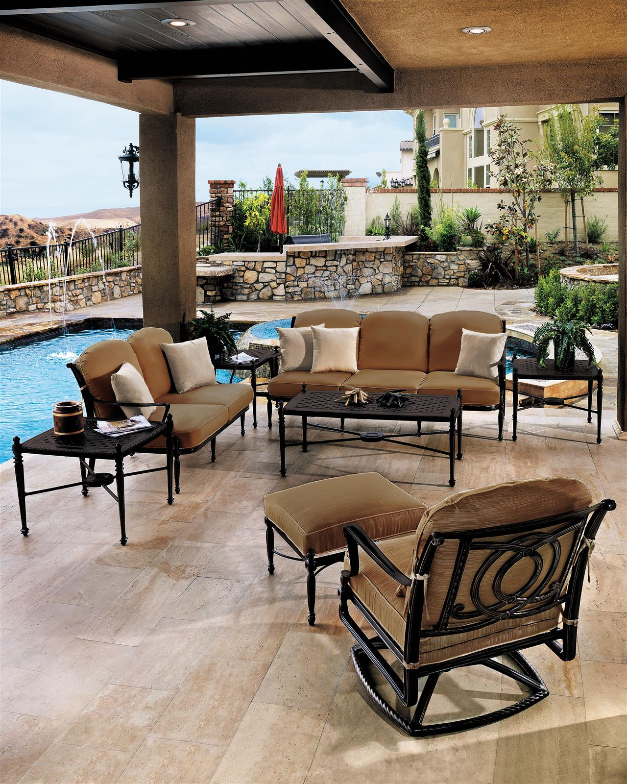 Living Home Patio Sets: Sequoia Supply