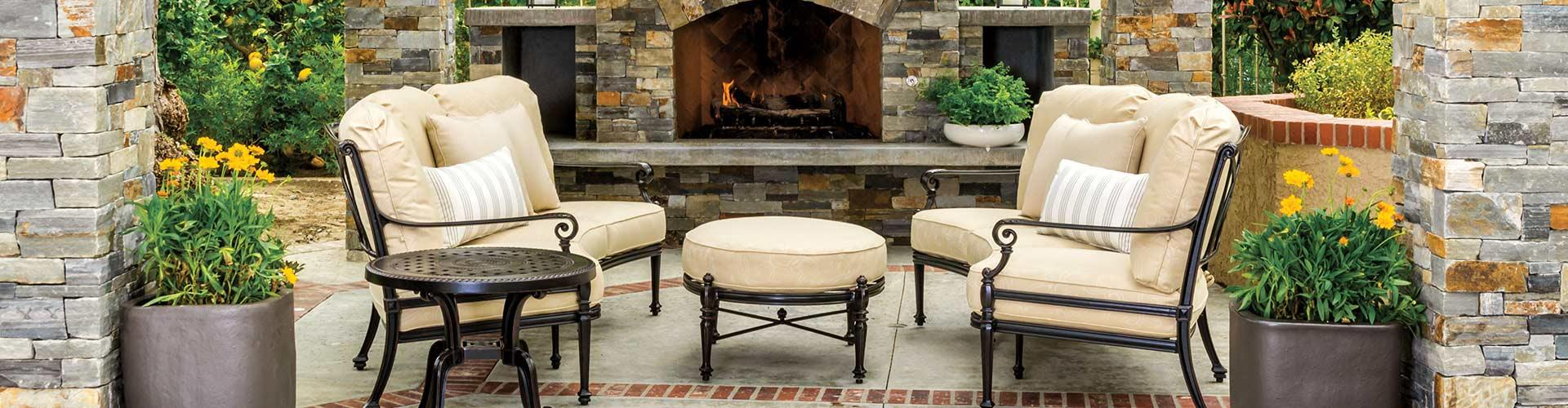 OUTDOOR LIVING • FURNITURE • FIREPLACES • KITCHENS